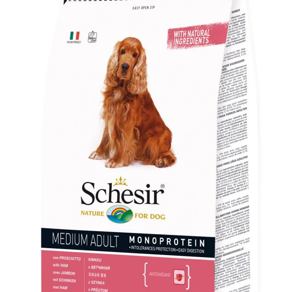 Schesir Medium Adulto Presunto 3kg-0