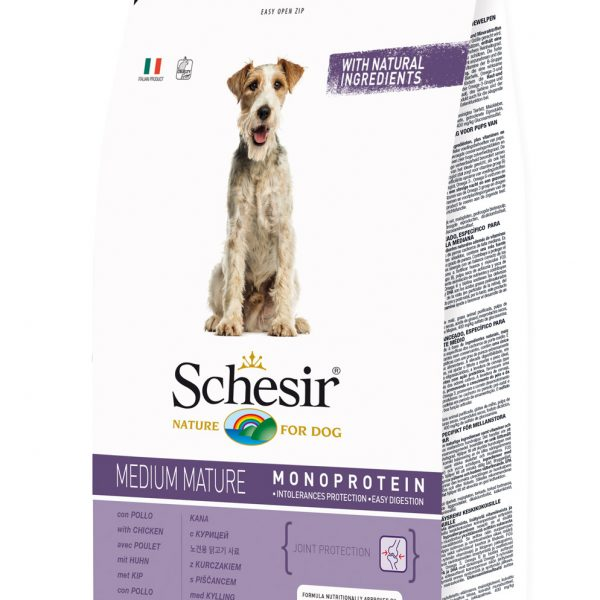 Schesir Medium Senior Frango 3kg-0