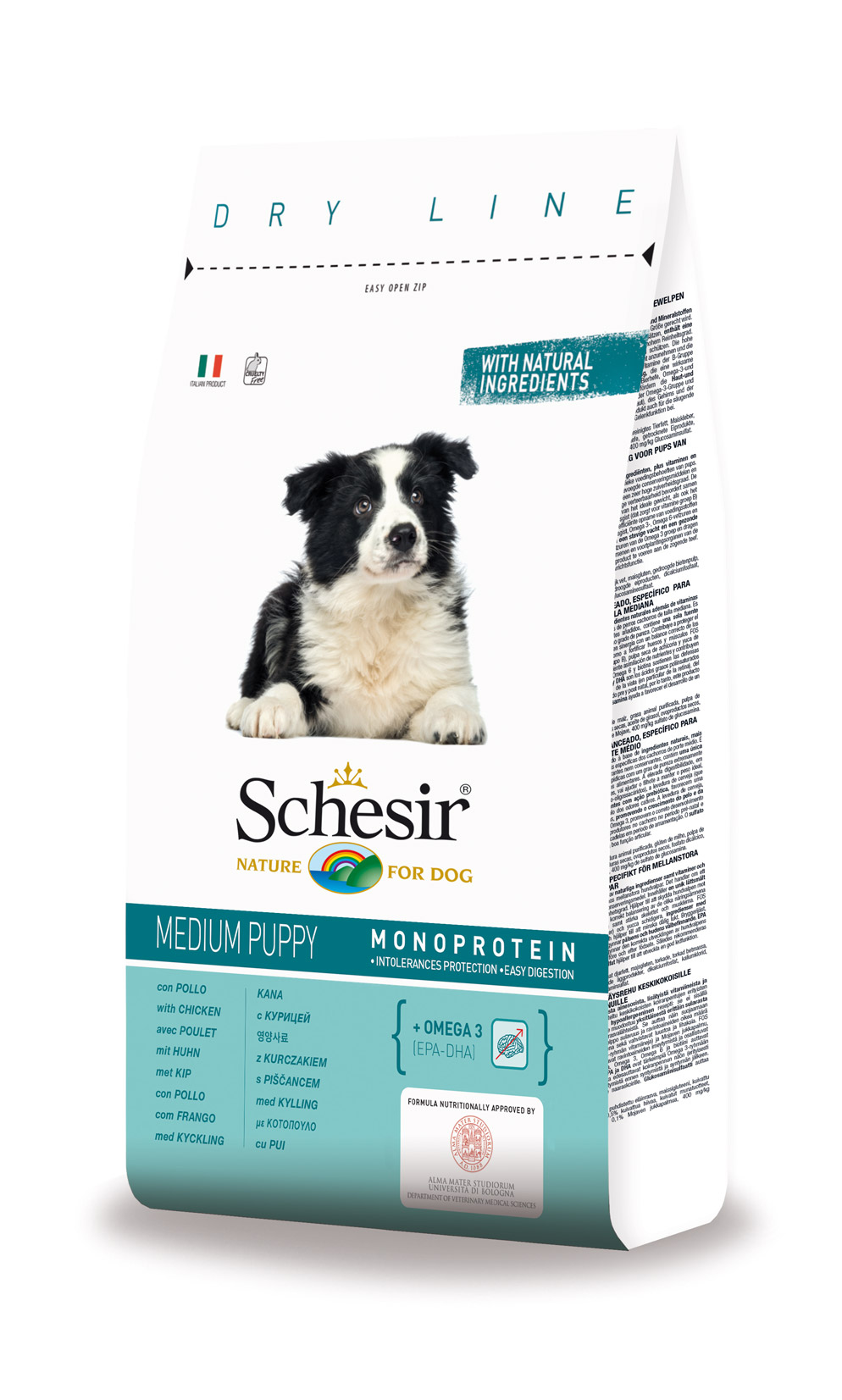 Schesir Medium Puppy Frango 3kg-0