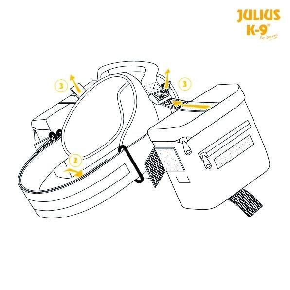 Mochila Julius-K9-13850