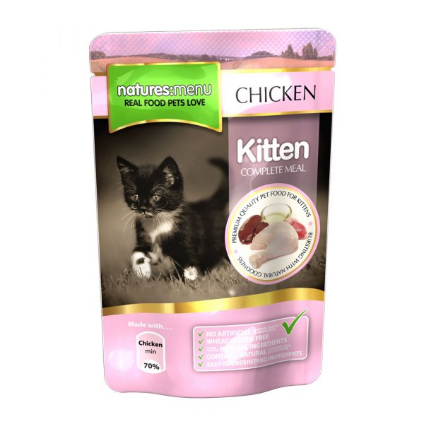 Natures Menu Kitten 100g-0
