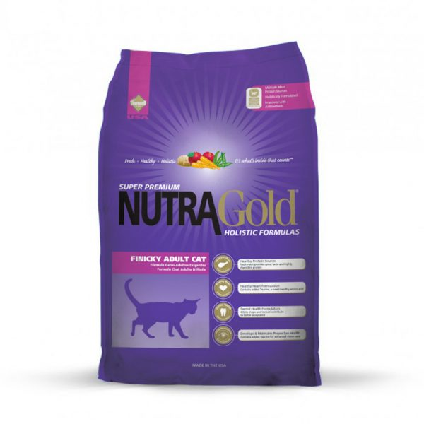 Nutra Gold Holistic Finicky Cat 7,5kg-0