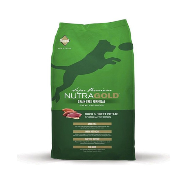 Nutra Gold Pato & Batata Doce 2.3kg-0