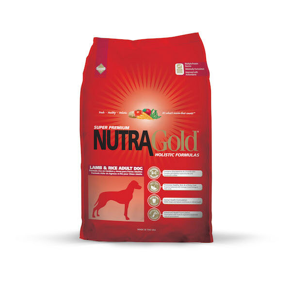Nutra Gold Holistic Adult Lamb & Rice 15kg-0