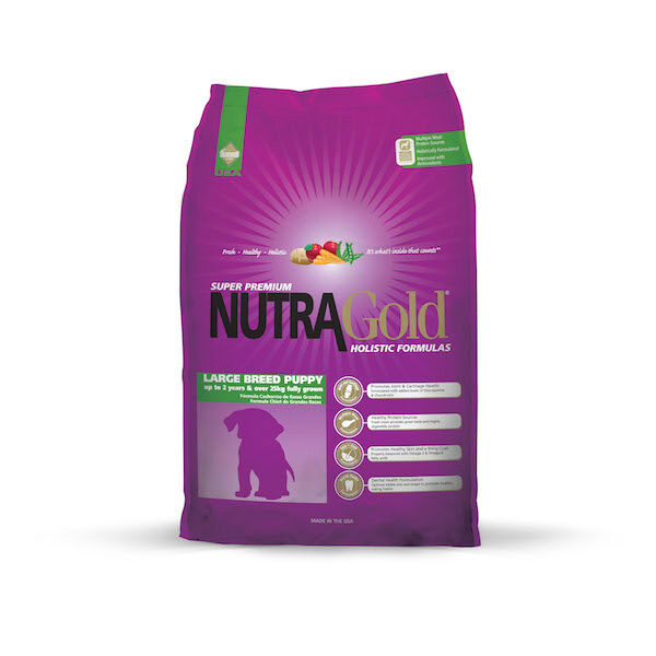 Nutra Gold Holistic Large Breed Puppy 3kg-0