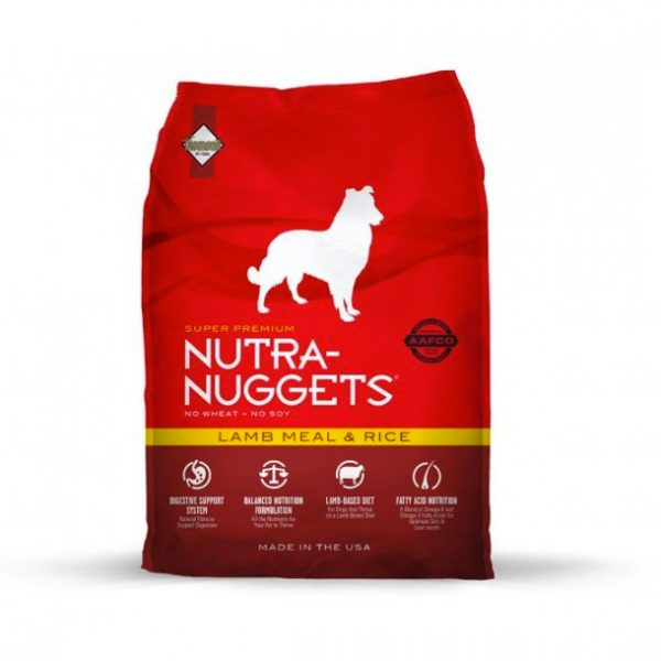 Nutra Nuggets Lamb & Rice 15kg-0