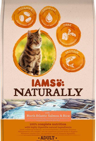 IAMS Naturally Adult Salmon 700gr-0